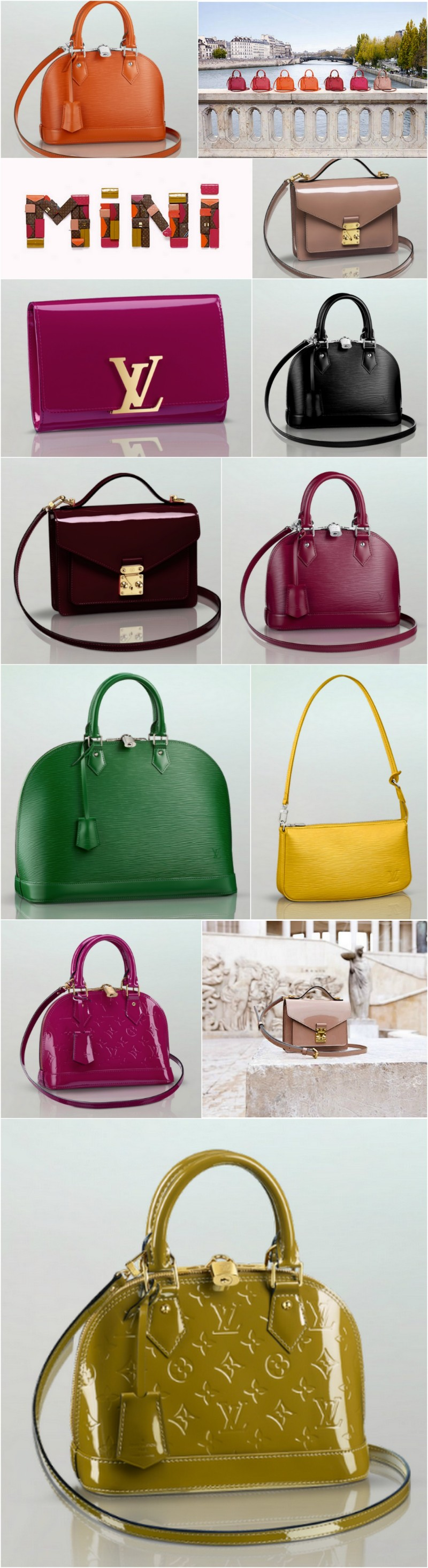 louis Vuitton mini bags
