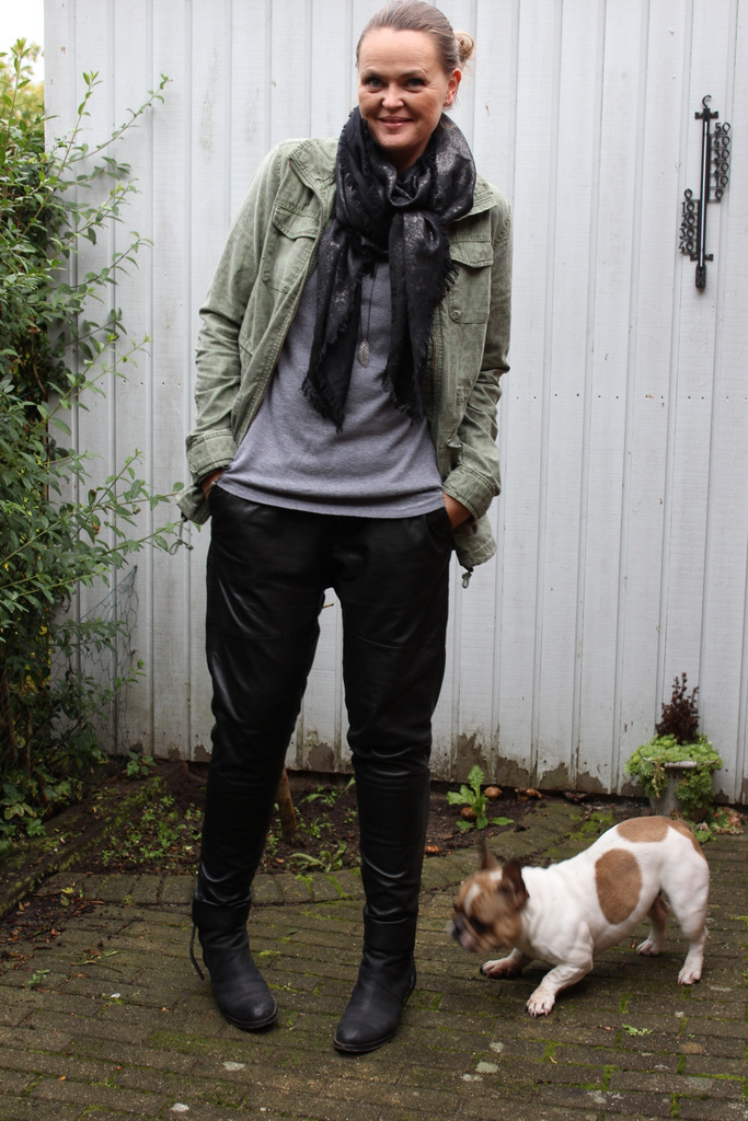 Designers remix erin leather pants