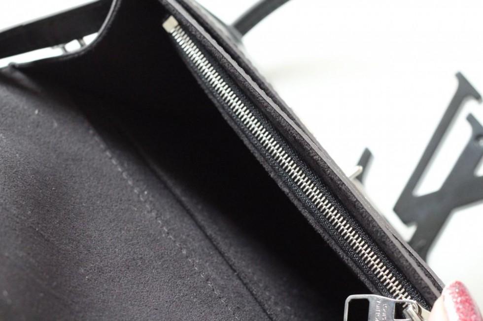 louis Vuitton sort skuldertaske