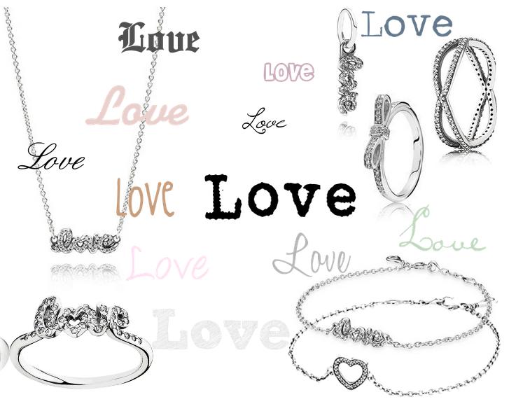 Pandora Valentine's kollektion 2015
