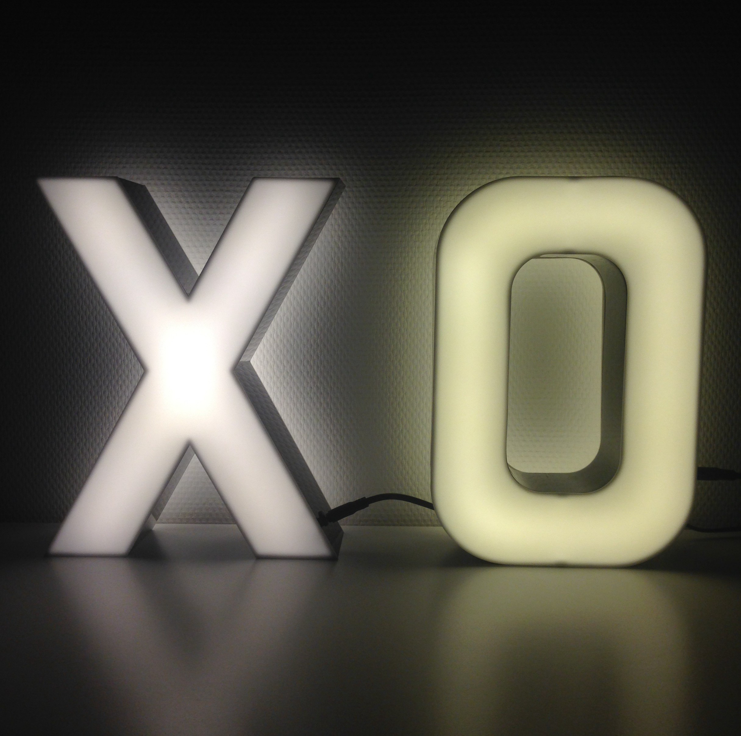 led letter lights