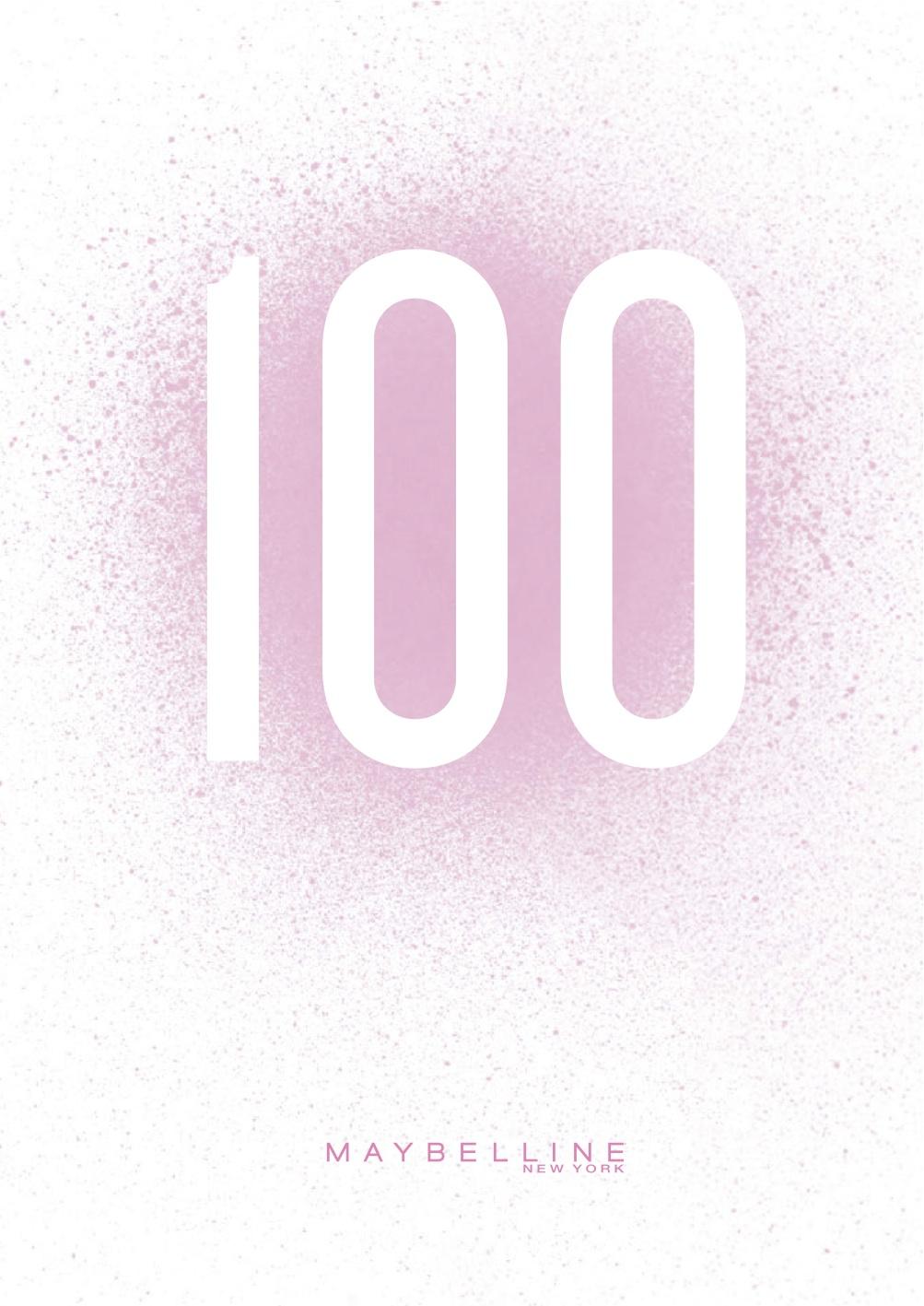 Leaflet_Maybelline 100_forsiden (1)