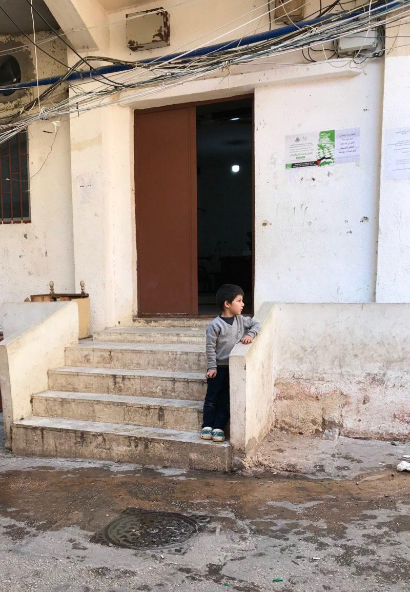 flygtningelejr beirut libanon